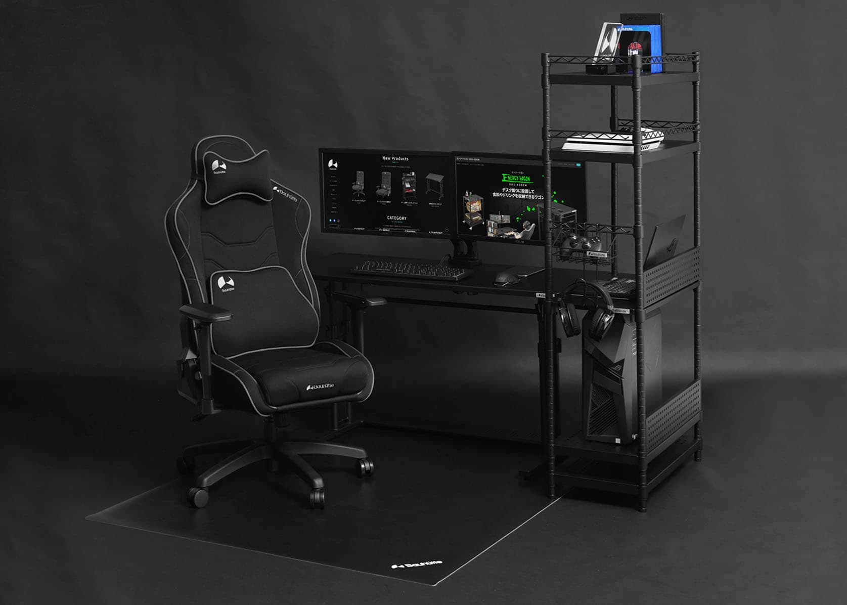 Desk Side Rack BHS-600SM / 700SM gallery